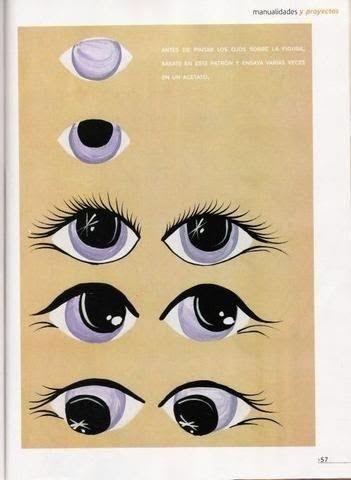 Рисовать тильде глаза