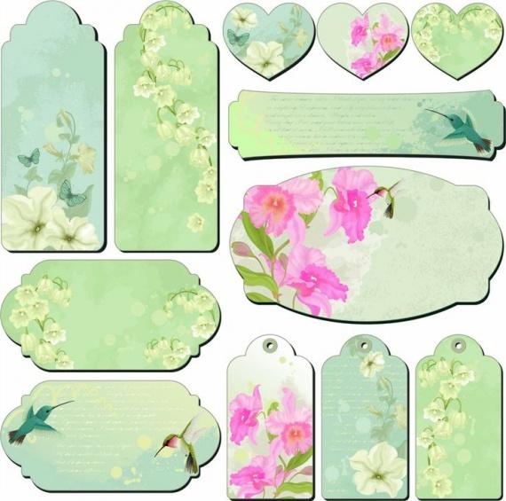 Этикетки для цветов