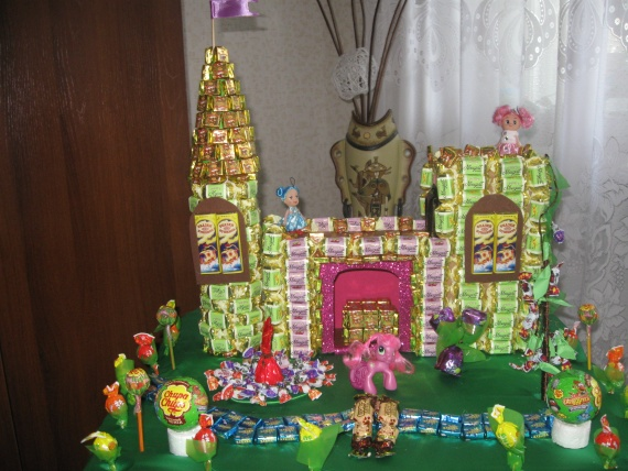 замок для внучки