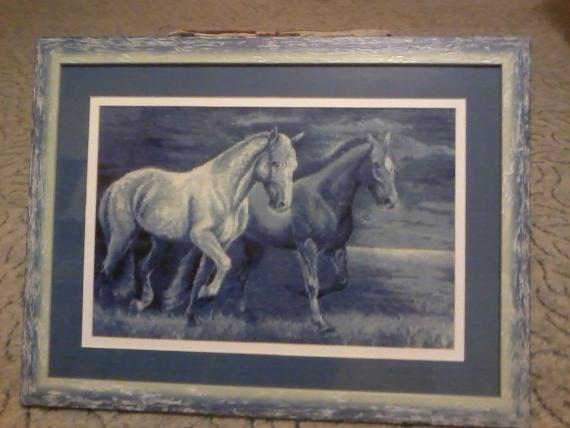 Голубые кони