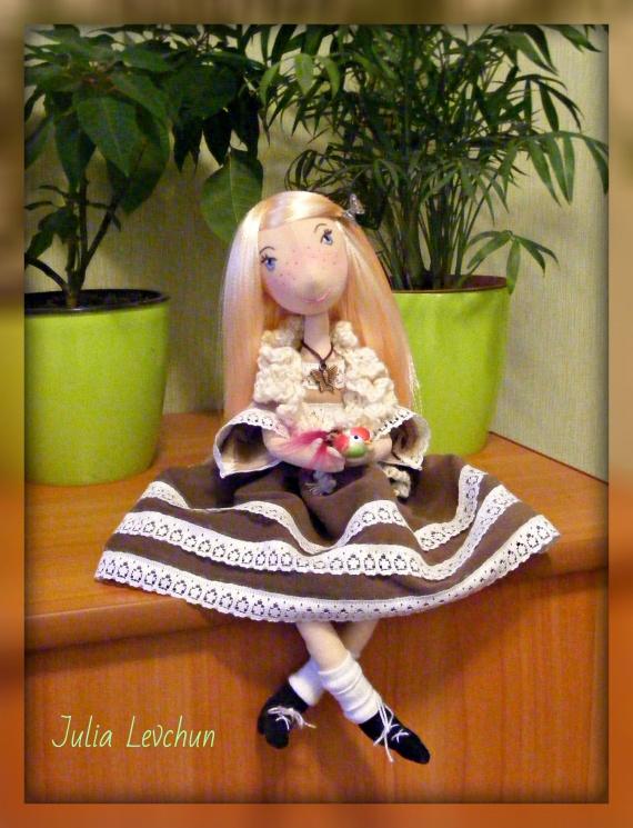 авторские куклы ручной работы от Юлии Левчун