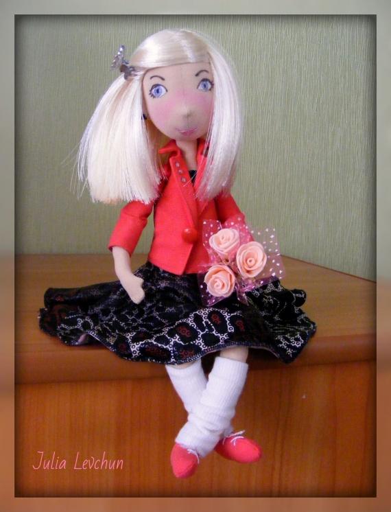 Оленька (портретная кукла)