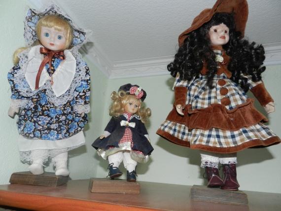 Куклы из прошлого столетия