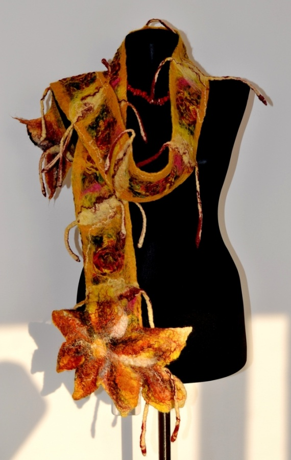 Обещаный шарфик