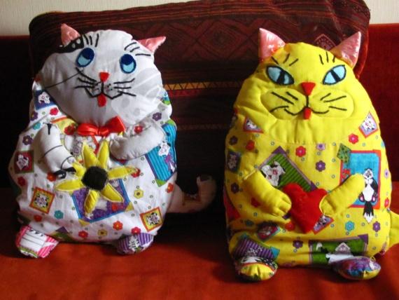 Подуш-игрушки для внученьки
