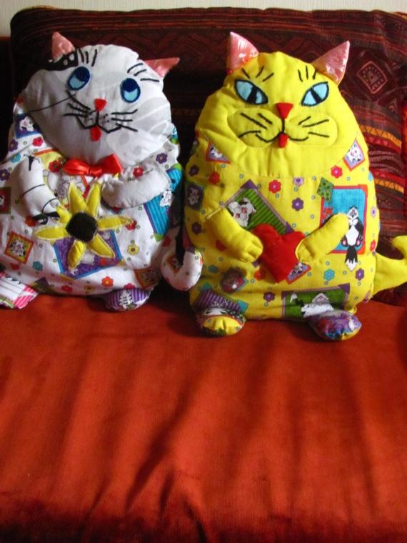 Котейки, сделанные ранее.