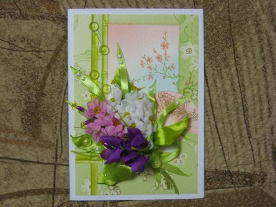 Продолжаю делать открытки на 8 Марта...