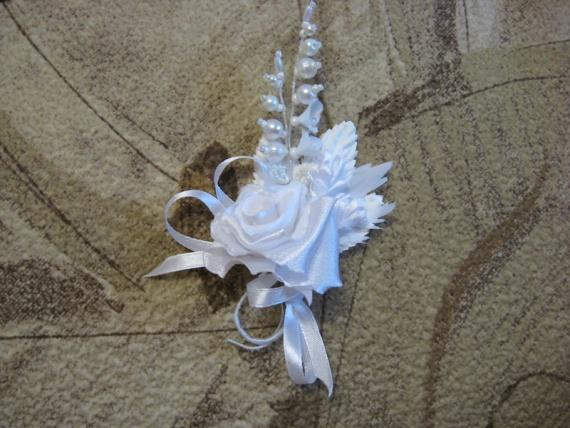 Мои свадебные бутоньерочки...