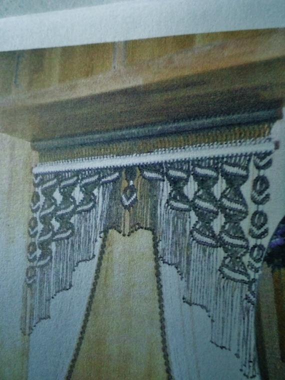И ещё макраме-шторы от Ахременко Марины