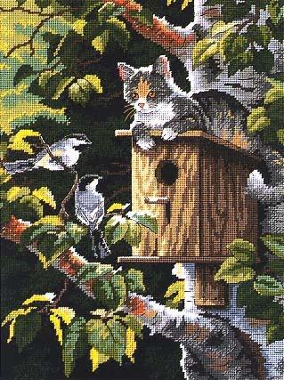 Кот - охотник