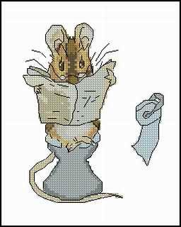 Читающий мышонок