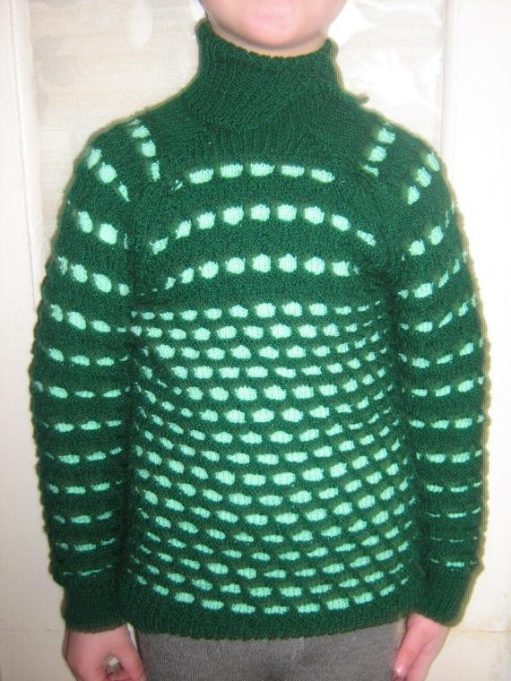Пуловерчик  для сына