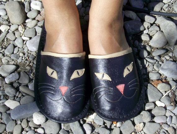 Тапочки-кошки