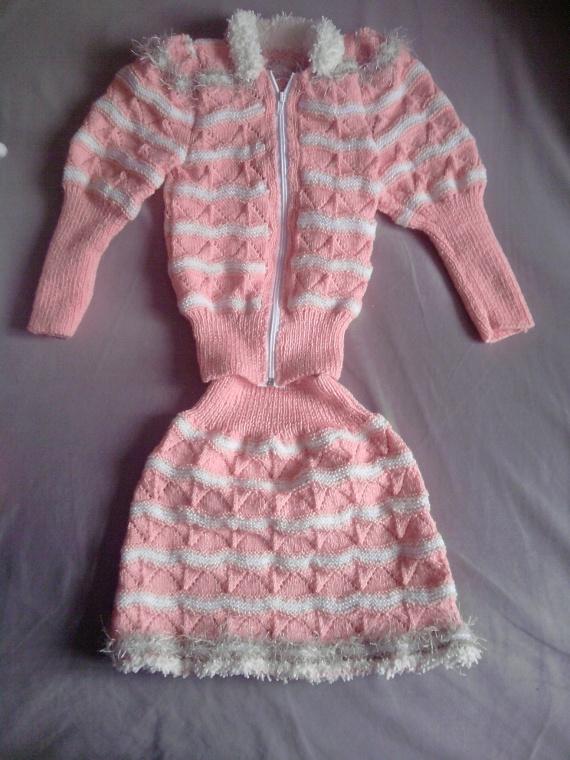 Хорошенькое. А это мой костюмчик на 5 лет для старшей внученьки Эвелин.