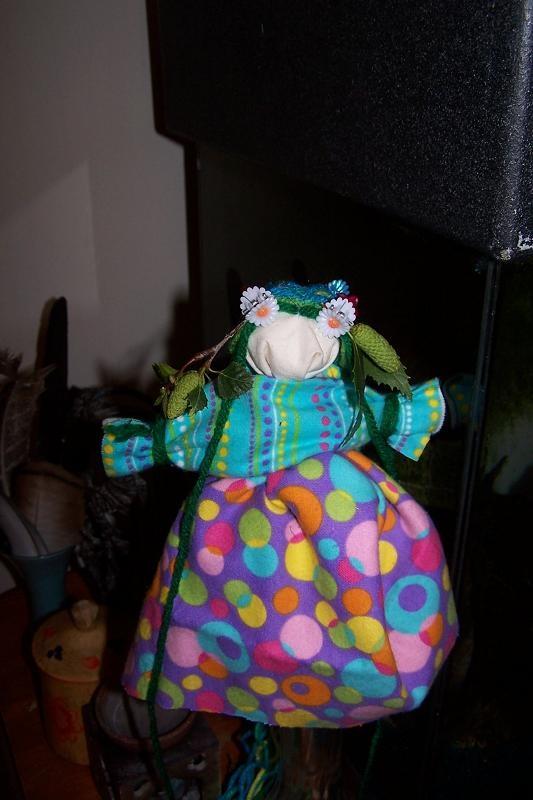 Одна из Олиных кукол