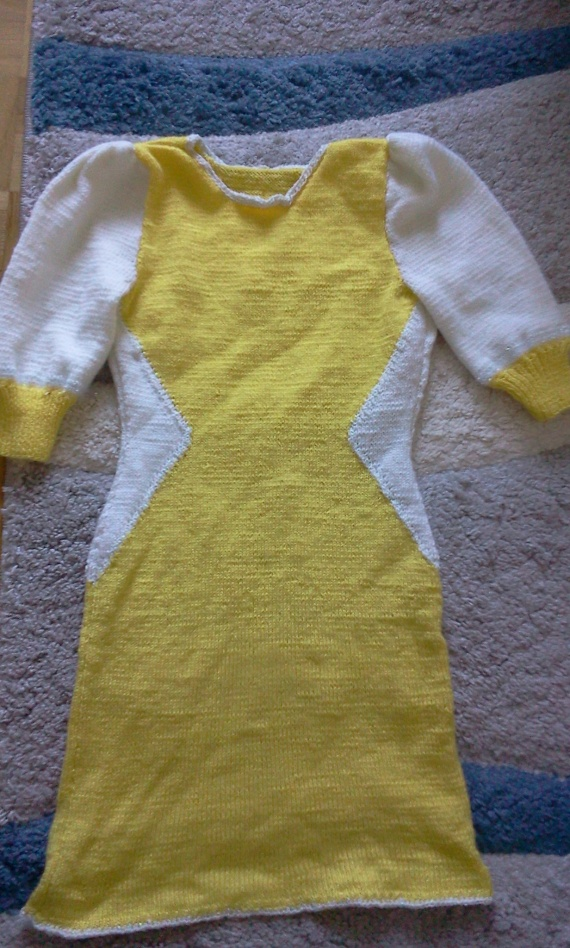 """Солнечная коллекция"": желтое платье"