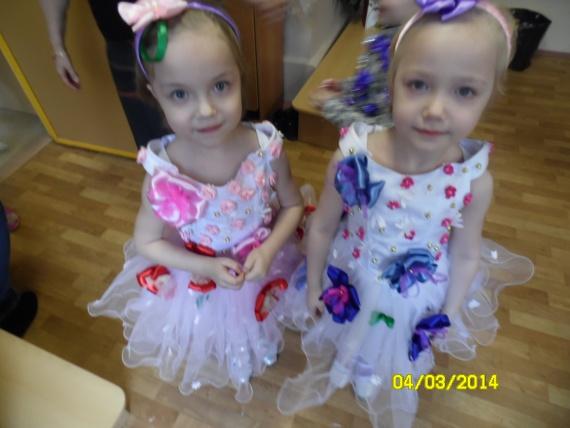 Платья дочек