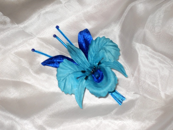 Мои цветы из шелка