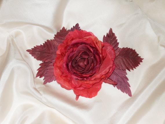Моя самая первая староанглийская роза.