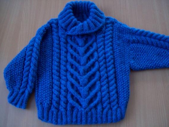 Пуловер для мальчика (6мес.)