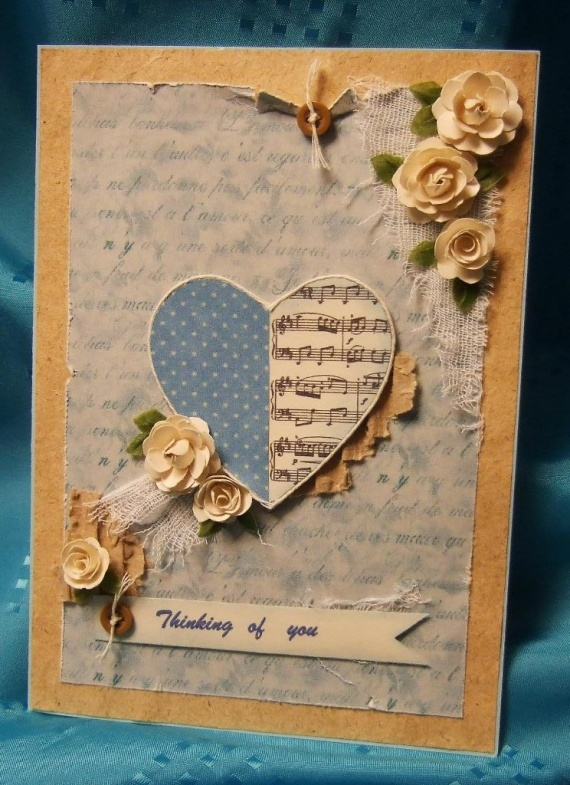 Две открытки на тему Любви