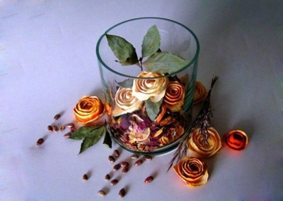 Апельсиновые розы.