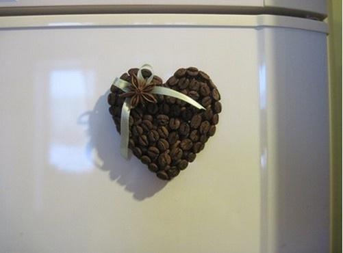 Кофейный магнитик.