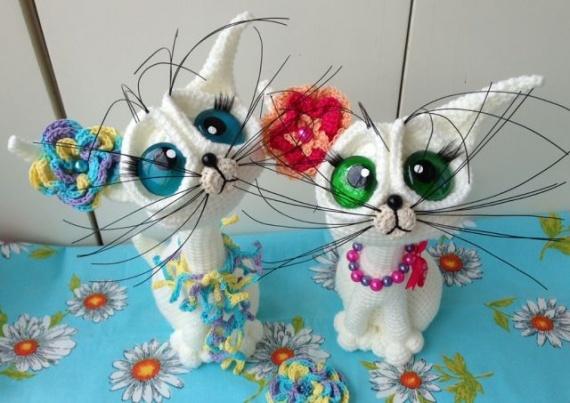 Милые котейки!
