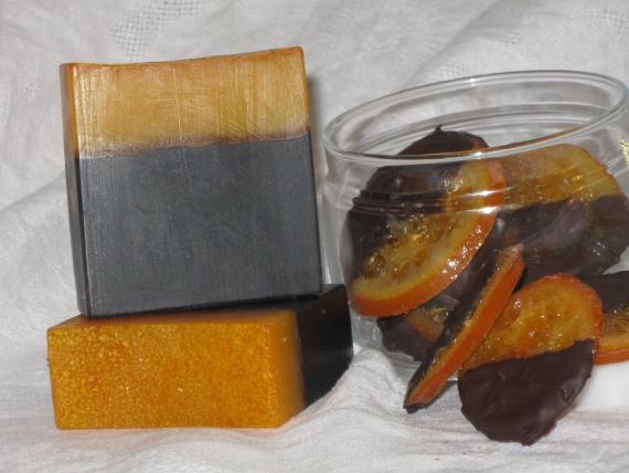 апельсин и шоколад