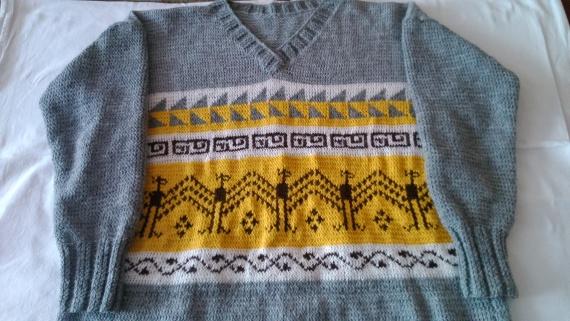 закончила свитер