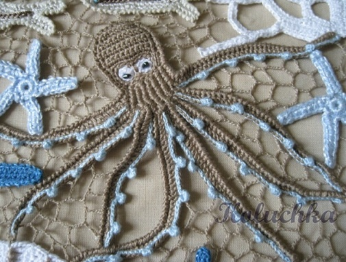 please give me the pattern of these Crocheting Octopus and starfish