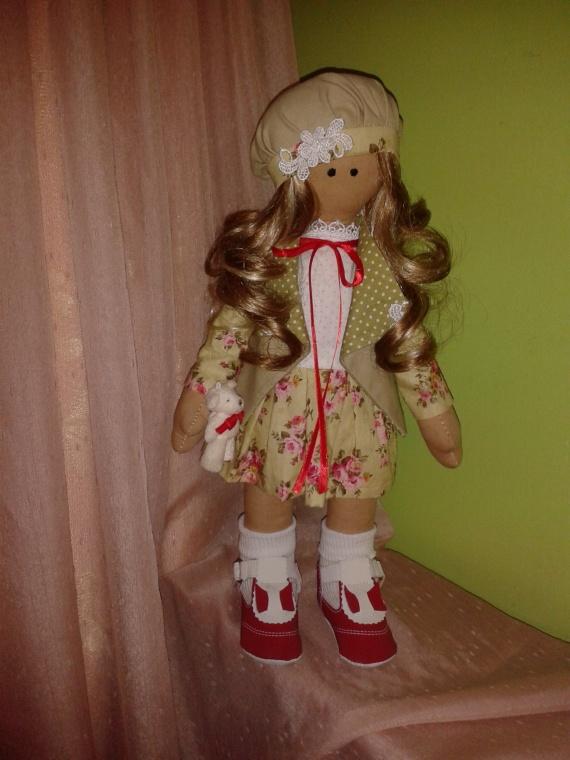 Интерьерная куколка.