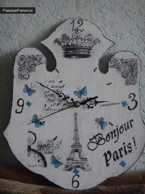 Франция в декупаже!