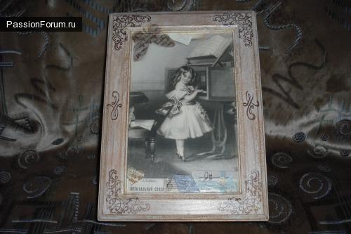 """Шкатулка """"Дочь музыканта"""""""