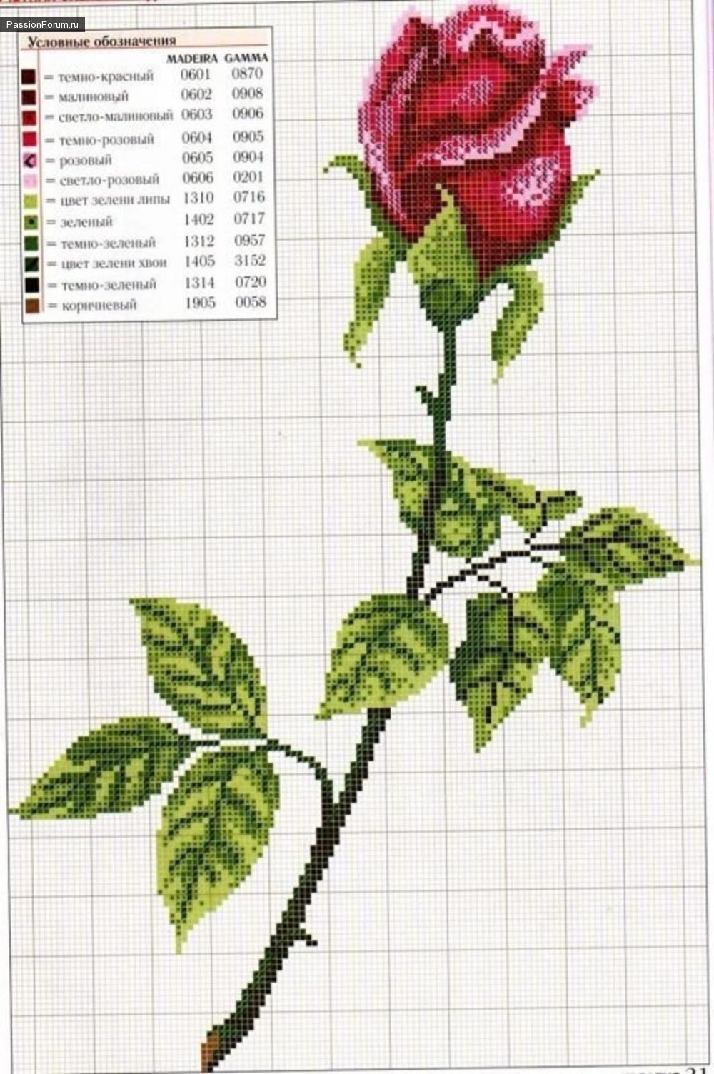 Показаны картинки по запросу Вышивка Бисером Схемы Розы.