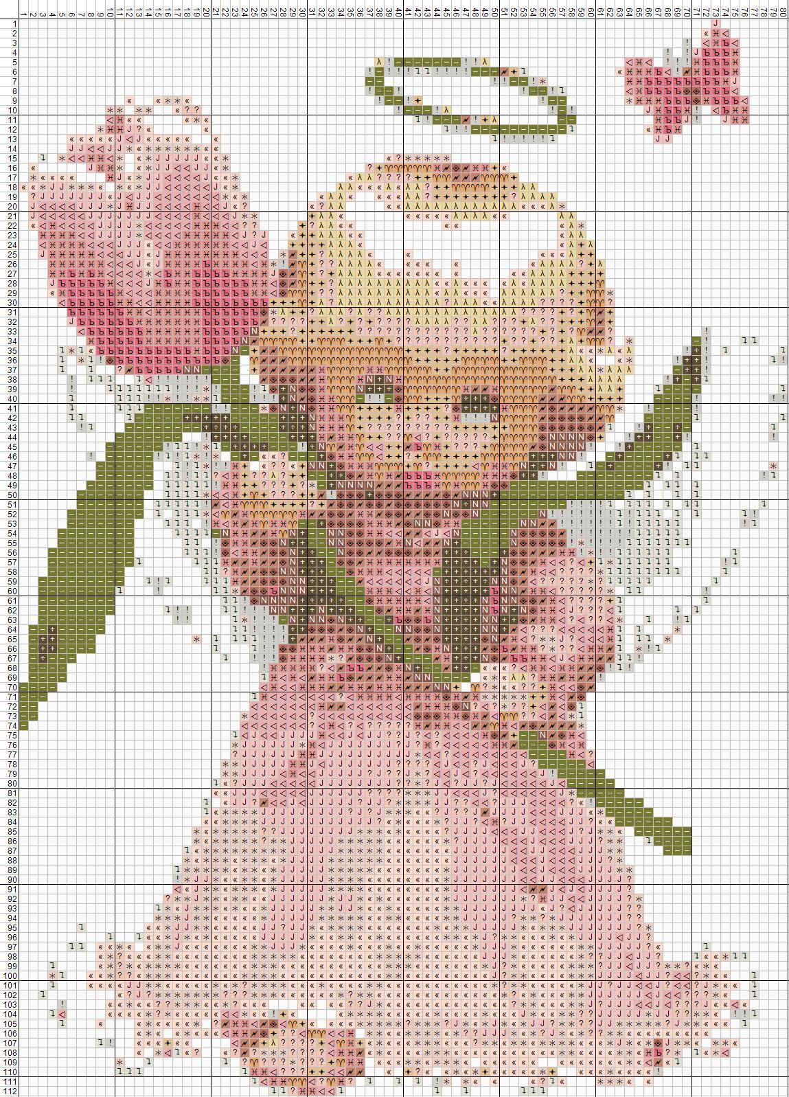 Схема вышивки ангелочка крестом скачать бесплатно