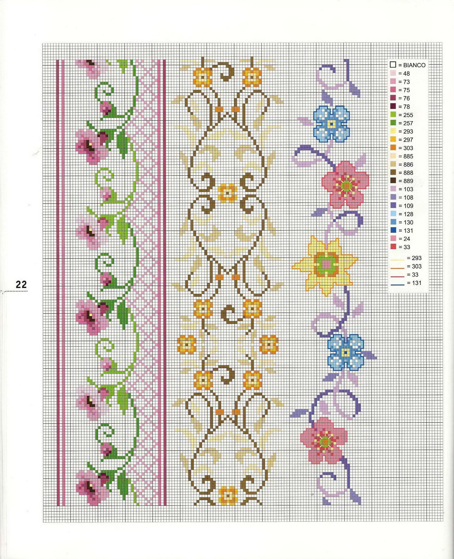 Схема вышивание для крестов - вышиваем крестом, полукрестом,.