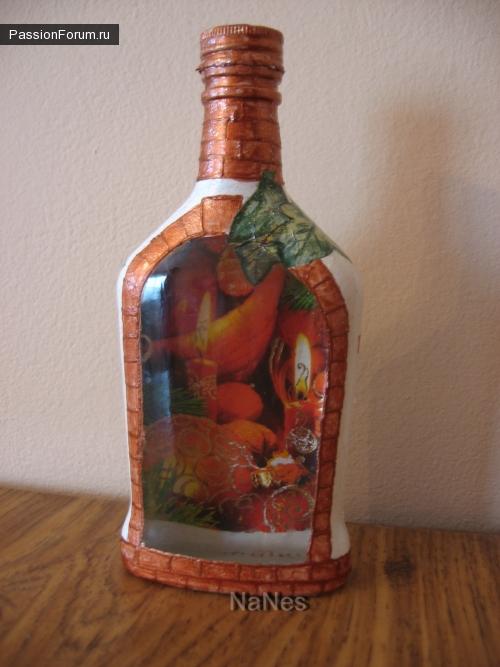 Новогодняя бутылочка.