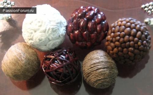Декоративные интерьерные шары.
