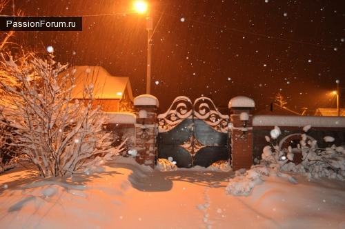 Такого снегопада....