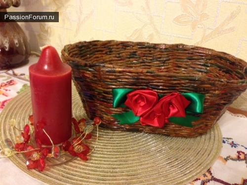 Рождественская корзинка