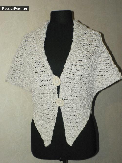 Еще один модел из шарфа
