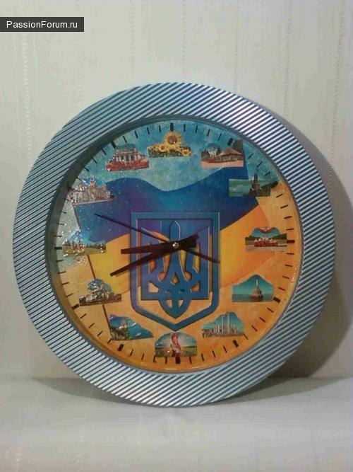 """Часы """"Моя Украина"""" и """"Ромашковый сон сестры"""""""