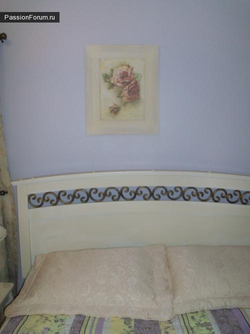 Декор гостевой спальни.