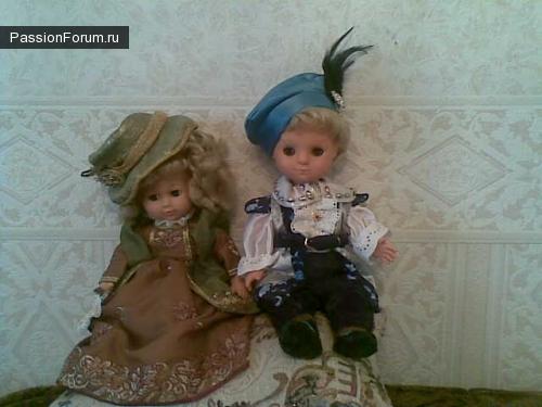 Вторая жизнь старым куклам