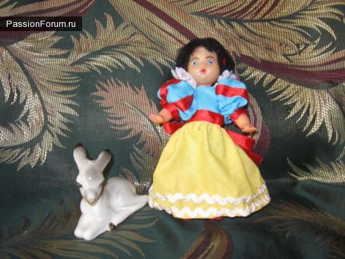 Сказочные герои из старых кукол