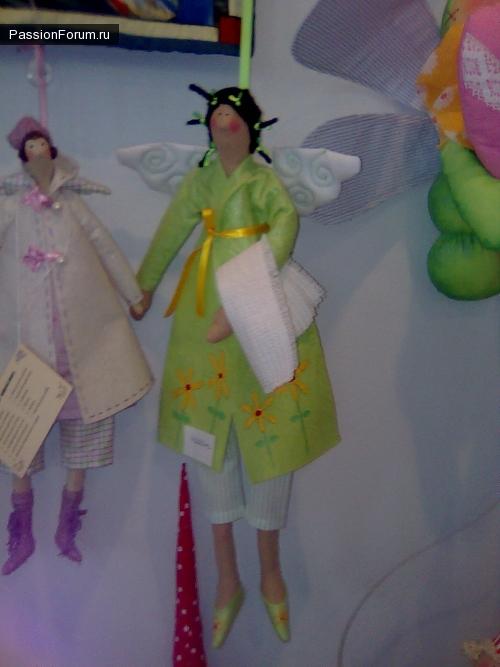 продолжение с выставки кукол