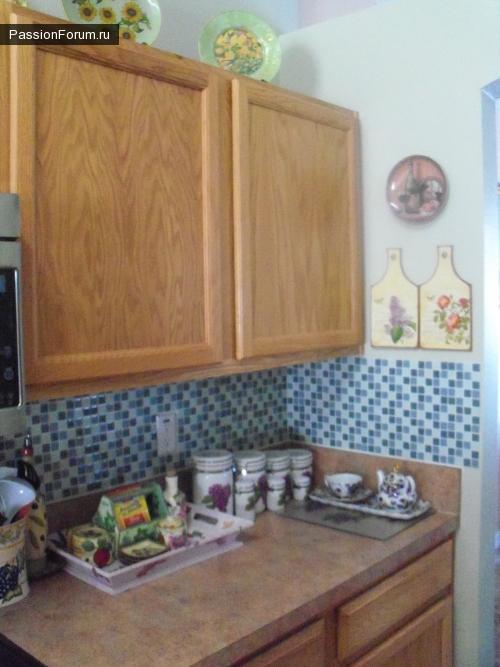 Декор кухни и декупажки в ней.