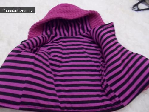 Курточка из пуловера