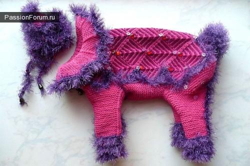 Новые наряды моей собачки Манюли